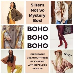 BOHO Mystery Box Anthropologie Free People Lucky